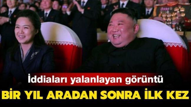 Kim Jong-un'un eşi Ri Sol-ju bir yıl aradan sonra ilk kez görüntülendi