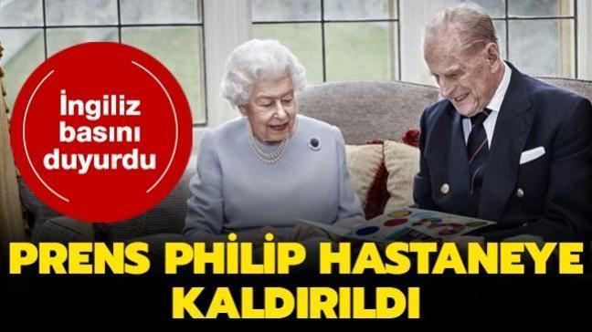 İngiliz basını duyurdu... 2. Elizabeth'in eşi Prens Philip hastaneye kaldırıldı