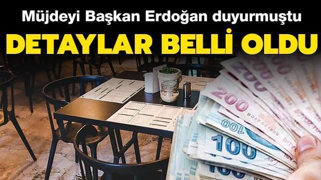 Restoran ve kafelere destek ödemesinin detayları belli oldu: Resmi Gazete'de yayımlandı