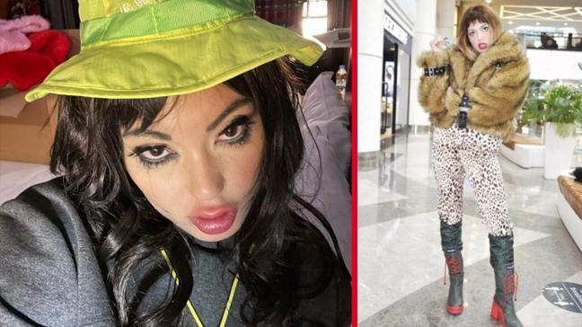 Doya Doya Moda yarışmacısı Bahar Candan, AVM stili ile görenleri hayrete düşürdü