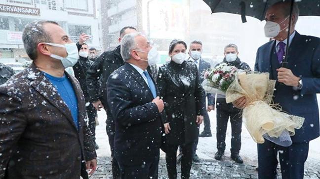 Numan Kurtulmuş Ordu Büyükşehir Belediyesi'ni ziyaret etti