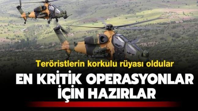 Teröristlerin korkulu rüyası oldular! En kritik operasyonlar için hazırlar