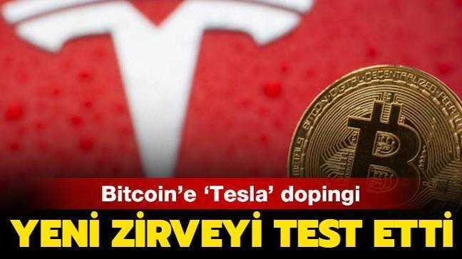Bitcoin'e 'Tesla' dopingi: 52 bin 533 dolarlık yeni zirveyi test etti