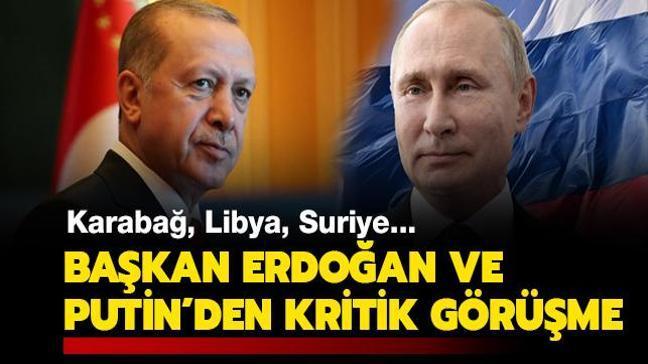 Son dakika haberi: Karabağ, Libya, Suriye... Türkiye ve Rusya'dan kritik görüşme