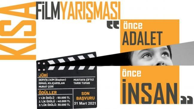 """Adalet Bakanlığı'ndan """"Önce adalet, önce insan!"""" temalı kısa film yarışması"""
