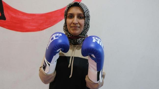 Adıyamanlı kadınlara şiddet anında kendilerini savunabilmeleri için 'kick boks' kursu veriliyor
