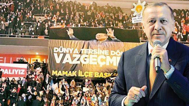 Başkan Erdoğan: Biz şehit babalarının asaletiyle yürüyoruz