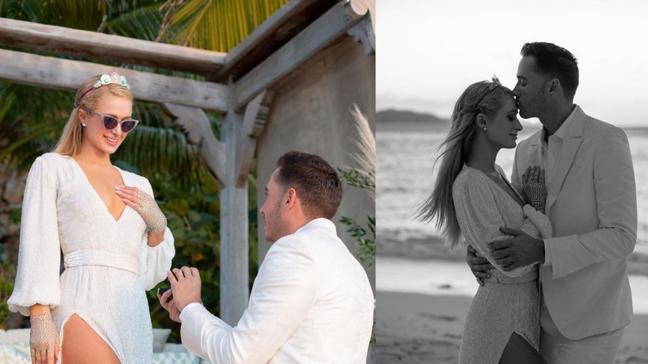 Doğum gününde sürpriz teklif: Paris Hilton sonsuza kadar evet dedi