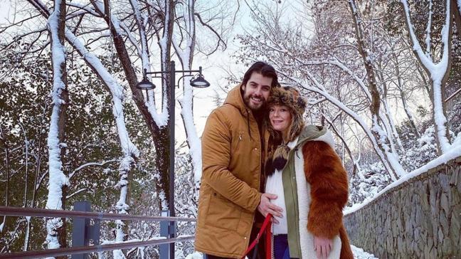 Sakatsiz'in Derya'sı Özge Özder'den eşi Sinan Güleryüz'ün doğum günü için romantik kutlama