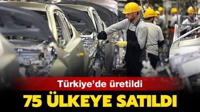 Türkiye'den 75 ülkeye otomobil ihracatı