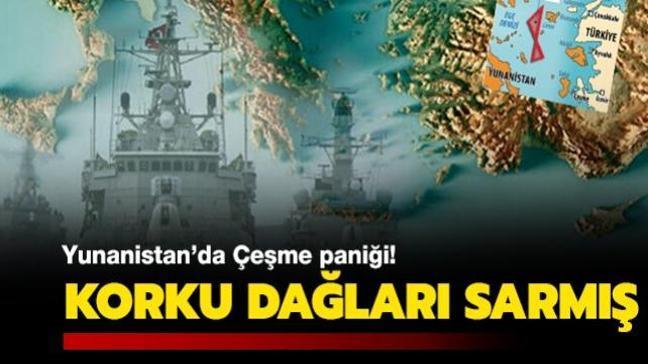 'TCG Çeşme' araştırma gemisinin yayınladığı NAVTEX, Yunanistan'da korku yarattı