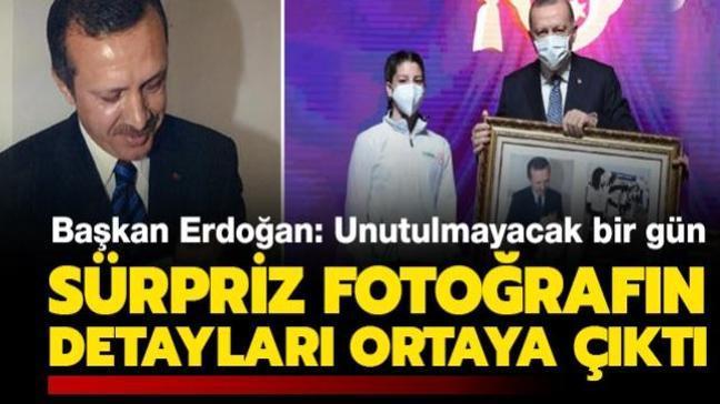Başkan Erdoğan'ın katıldığı törene damga vuran fotoğrafın detayları ortaya çıktı: Hayalim gerçek oldu