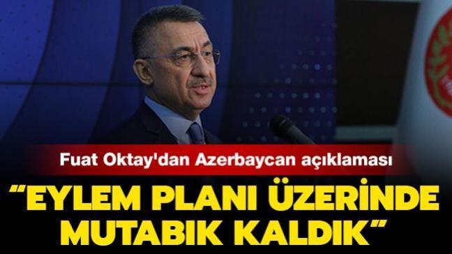 """Cumhurbaşkanı Yardımcısı Oktay'dan Azerbaycan açıklaması: """"15 milyar dolarlık ticaret hacmi hedefi için önemli bir aşama"""""""