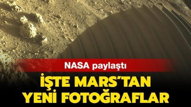 NASA paylaştı: İşte Mars'tan yeni fotoğraflar