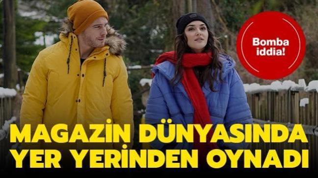 Sen Çal Kapımı'nın yıldızları Kerem Bürsin ve Hande Erçel aynı evde yaşıyor iddiası! Sosyal medya çalkalandı