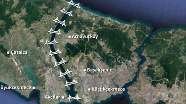 Arnavutköy Kaymakamlığından Kanal İstanbul açıklaması