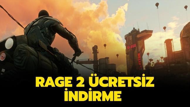 """Epic Games Rage 2 ücretsiz nasıl ve nereden indirilir"""" Rage 2 sistem gereksinimleri nelerdir"""""""