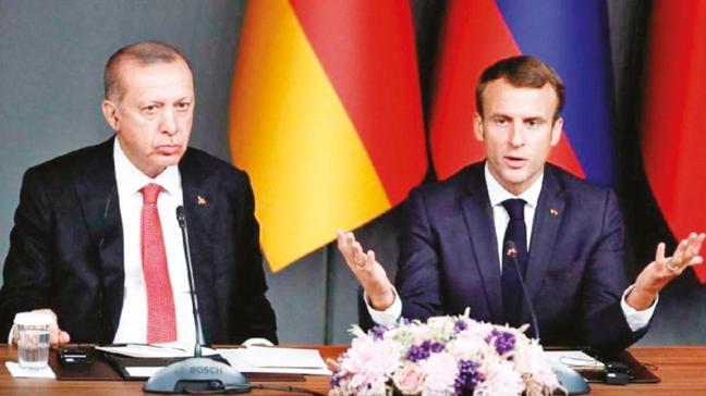 Sudan gazetesinin analizi! 'Erdoğan, tavşan beyinli Macron'u terbiye ediyor'