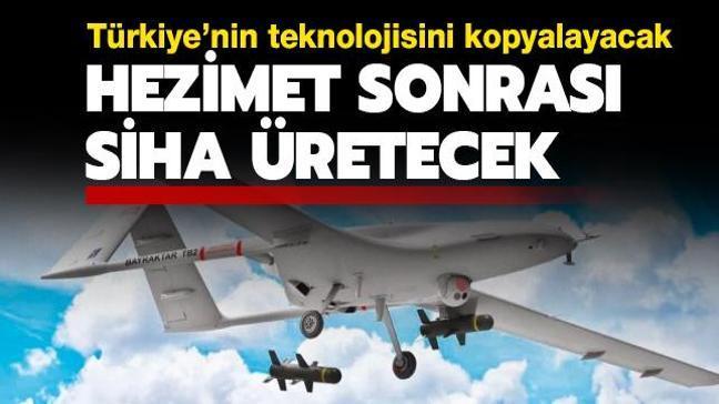 Türkiye'nin teknolojisini kopyalayacak! Ermenistan hezimet sonrası SİHA üretecek