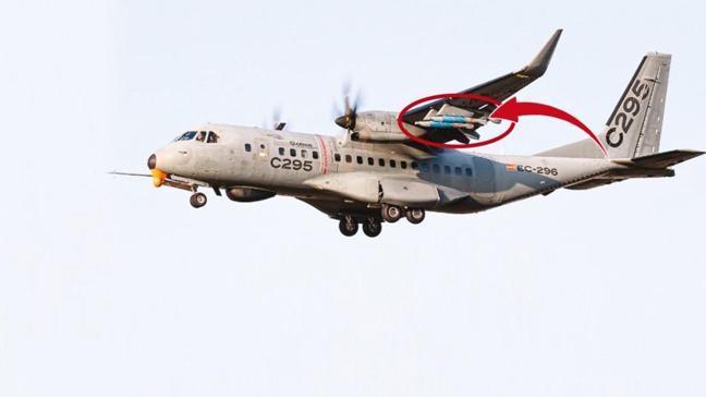 Airbus'ın dev uçağı Roketsan'la uçtu