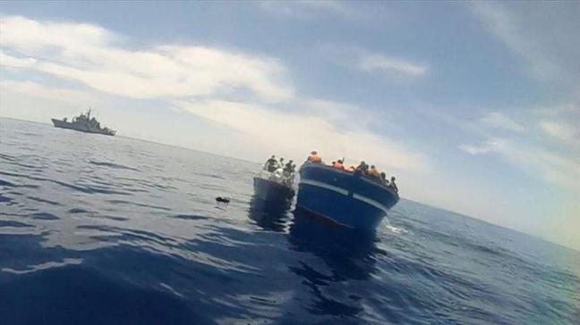Lampedusa'da göçmen krizi: Faciadan kıl payı kurtuldular