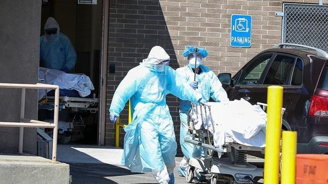 ABD'de koronavirüsten son 24 saatte 2 bin 139 kişi hayatını kaybetti