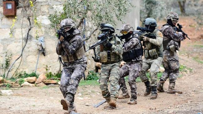 Jandarma ekipleri Mardin'de PKK/KCK terör örgütüne operasyon düzenledi