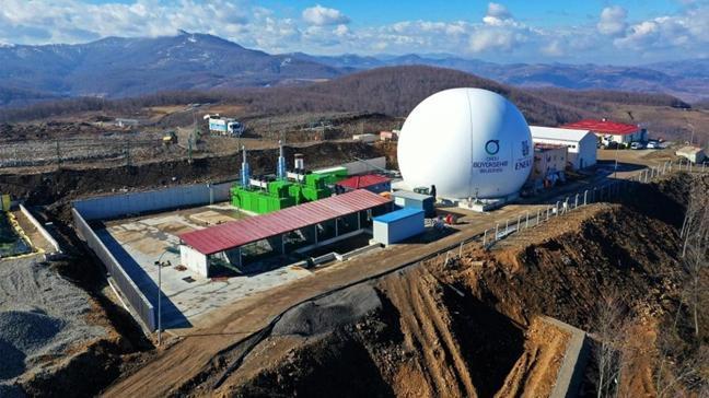 Ordu'da günlük toplanan 250 ton evsel atık işlenerek elektrik enerjisine dönüştürülecek