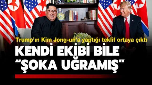 "Trump'ın Kim Jong-un'a ""Air Force One uçağıyla seyahat etmeyi"" teklif ettiği öne sürüldü"