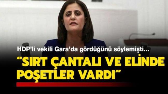 HDP'li Taşdemir'i Gara'da gördüğünü söyleyen teröristin ifadesi ortaya çıktı: Sırt çantalı ve elinde poşetler vardı