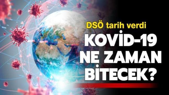 DSÖ tarih verdi: Koronavirüs 2022'nin başlarında sona erer