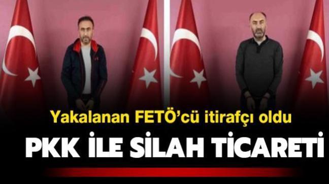 Özbekistan'da gerçekleştirilen operasyonda yakalanan FETÖ'cü PKK/YPG ile silah ticaretini itiraf etti