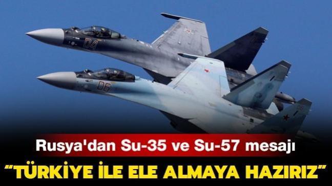 Rusya'da savaş uçağı açıklaması: Türkiye ile görüşmeye hazırız