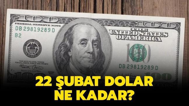 """Dolar kaç TL oldu"""" 22 Şubat 2021 Dolar bugün ne kadar"""""""