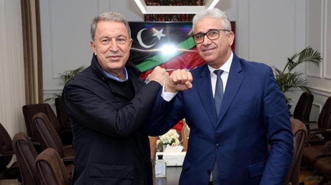 Milli Savunma Bakanı Hulusi Akar Libya içişleri Bakanı'nı telefonla aradı