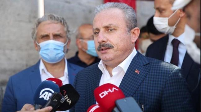 """TBMM Başkanı Şentop'tan HDP'li 9 vekille ilgili hazırlanan fezlekeye ilişkin açıklama: """"Şu ana kadar Meclise gelen fezleke yok"""""""