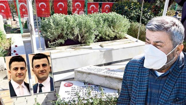 Şehit mezarlarına alçak saldırı