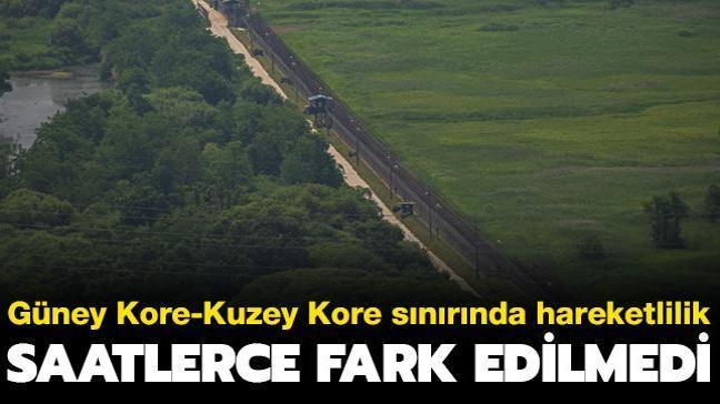 Güney Kore-Kuzey Kore sınırında hareketlilik... Saatlerce fark edilmedi