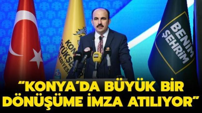"""Konya'da büyük bir dönüşüme imza atılıyor! Başkan Altay: """"Konya'nın Hayallerini Gerçekleştiriyoruz"""""""