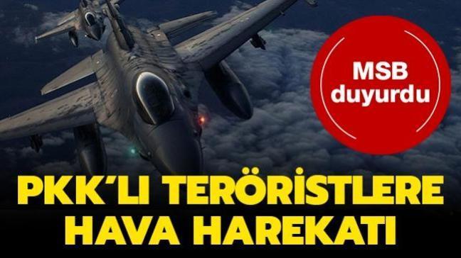 MSB duyurdu... PKK'lı teröristler etkisiz hale getirildi