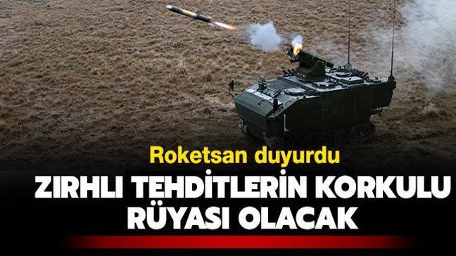 """Roketsan duyurdu: """"Zırhlı tehditlere karşı her koşulda kullanılabilecek"""""""