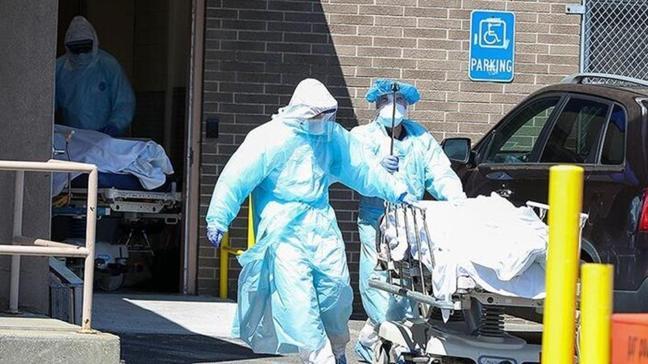 ABD'de koronavirüsten son 24 saatte bin 387 kişi hayatını kaybetti