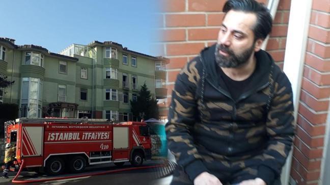 Çılgın Sedat lakaplı Sedat Kapurtu'nun evinde yangın çıktı!