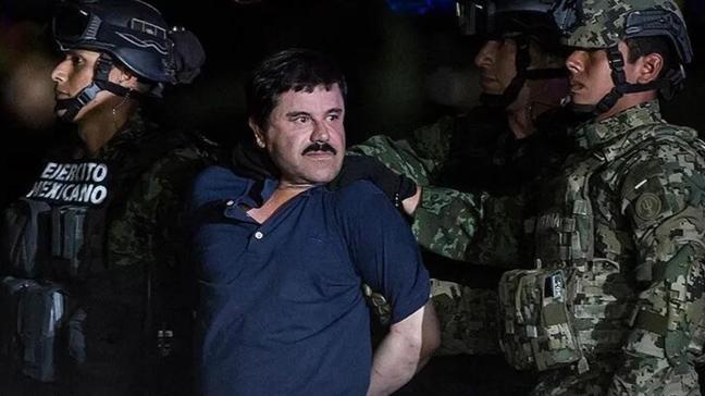 El Chapo'nun eşinin cezaevinde kalmasına hükmedildi