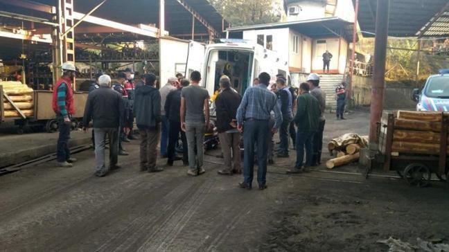 Son dakika haberleri... Çorum'da kömür madeninde korkutan patlama
