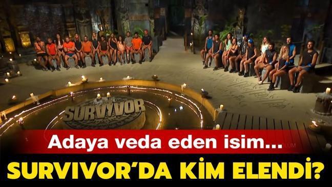 """Survivor'a dün akşam kim elendi"""" Survivor'da bu hafta adaya veda eden isim kim oldu"""""""