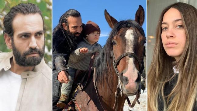 Uyanış Büyük Selçuklu'nun Sultan Melikşah'ı Buğra Gülsoy'a eşi Nilüfer Gürbüz'den doğum günü paylaşımı