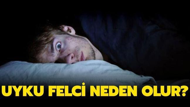 """Uyku felci nedir, neden olur"""" Uyku felci belirtileri nelerdir"""""""