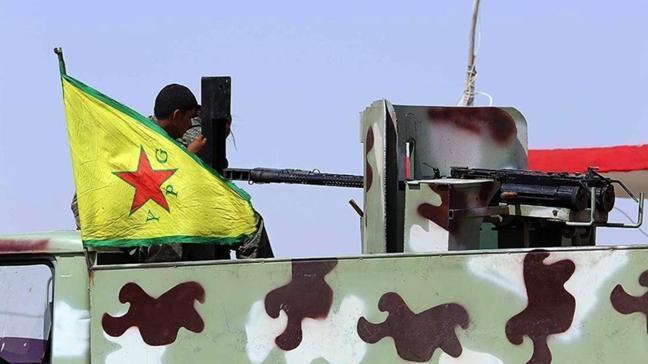 YPG/PKK Deyrizor'u parçalara bölerek 'kanton' adını verdiği sözde idari yönetimler kurdu