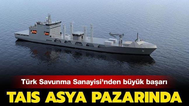 Türk Savunma Sanayisi Asya pazarında: TAIS iş birliği ihalesini kazandı